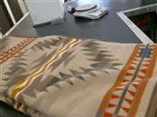 BEAVER STATE American Indian Blanket/Rug WOOLEN MIL